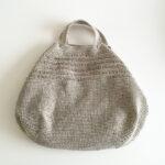 バッグ編みました。